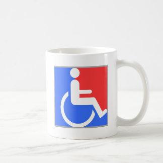 Handicapped original design! coffee mug