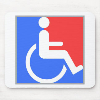 Handicapped original design! mouse pad
