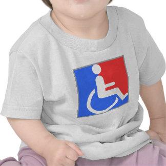 Handicapped original design! shirts