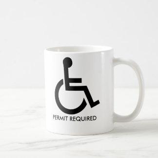 Handicapped Parking - Mug