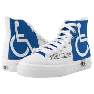 HANDICAPPED PARKING Zipz Shoes