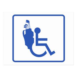 Handicapped Postcard