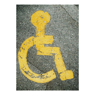 Handicapped Poster