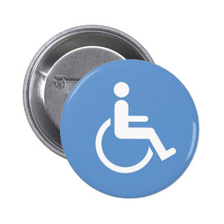 HANDICAPPED sign Button