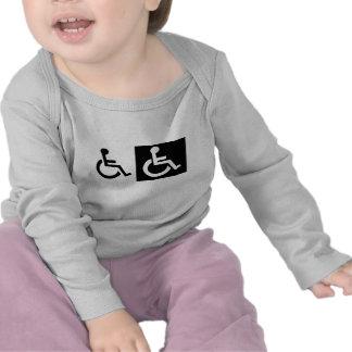 Handicapped T-shirt