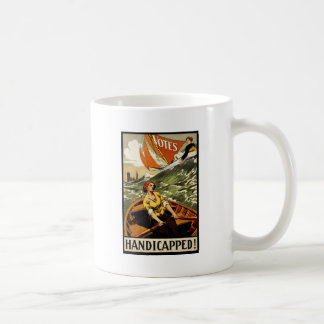 Handicapped Without the Vote Classic White Coffee Mug