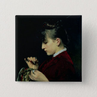 Handicraft, 1887 pinback button