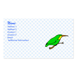 Handie Hummingbird Double-Sided Standard Business Cards (Pack Of 100)