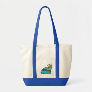Handkerchief Turtle Impulse Tote Canvas Bag