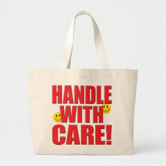 Handle Care Life Tote Bag
