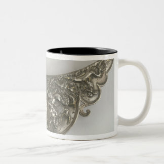 Handle of a Plate Showing The Birth of Venus, Gall Two-Tone Coffee Mug