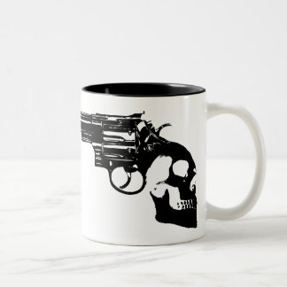 Handle of Death Bang! Coffee Mugs