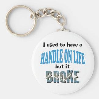 Handle on Life Keychain