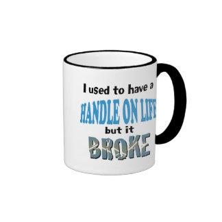 Handle on Life Ringer Mug