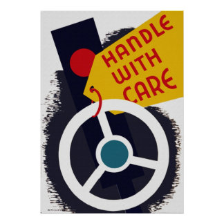 Handle With Car Poster