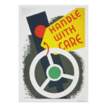 Handle With Care 1943 WPA Poster