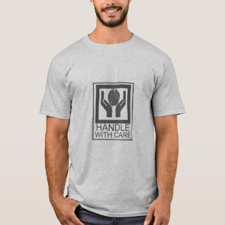 handle with care_brain T-Shirt