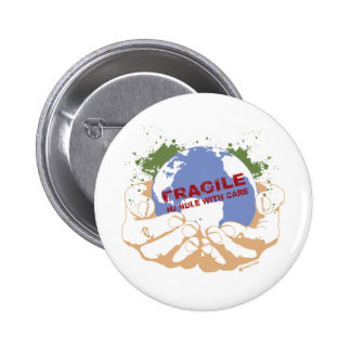 Handle With Care Buttons