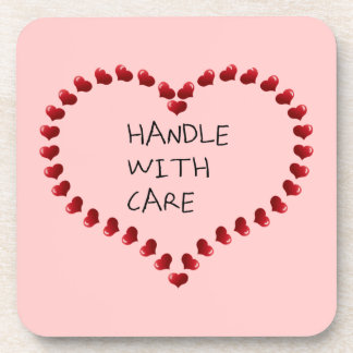 Handle with Care Drink Coaster