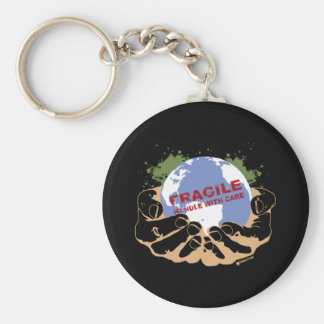 Handle With Care Key Chain
