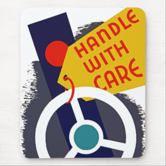 Handle With Care Mouse Pad
