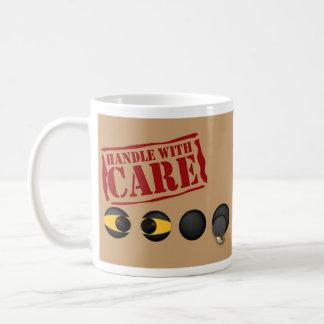 Handle with Care Novelty Coffee Mug