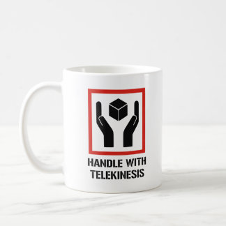 Handle With Telekinesis Coffee Mug