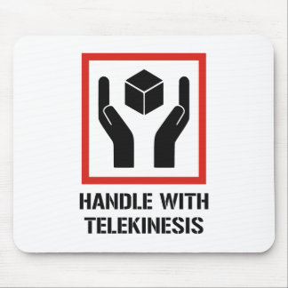 Handle With Telekinesis Mouse Pad