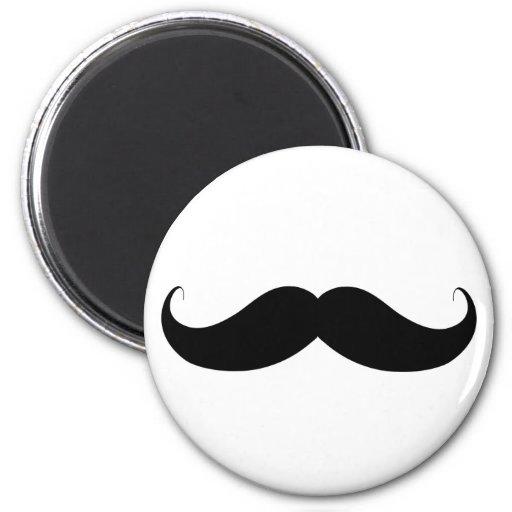Handlebar Moustache / Mustache Refrigerator Magnets