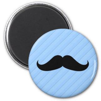 Handlebar Mustache 2 Inch Round Magnet