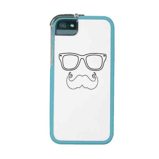 Handlebar Mustache Face Case For iPhone 5