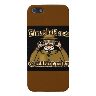 Handlebar Mustache Gentleman Case For iPhone SE/5/5s