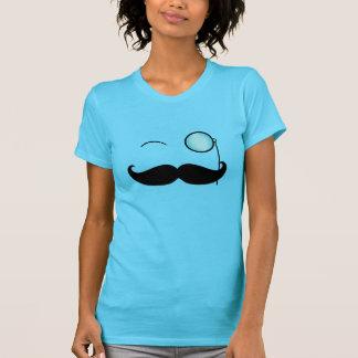 Handlebar Mustache & Monocle T-shirt