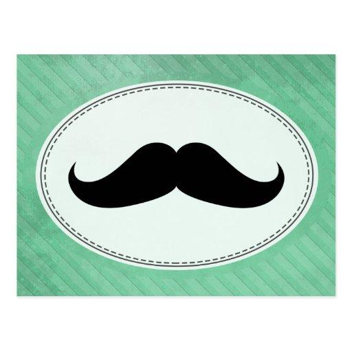 Handlebar Mustache Postcards