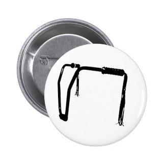 handlebar tassels pinback buttons