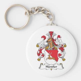 Handler Family Crest Keychain