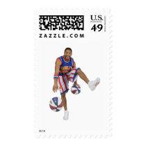 Handles Franklin stamps
