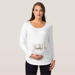 f23b2461b Thanksgiving Maternity Shirts & Tops   Zazzle