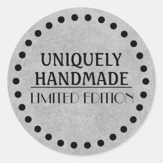 Handmade Artisan Classic Round Sticker
