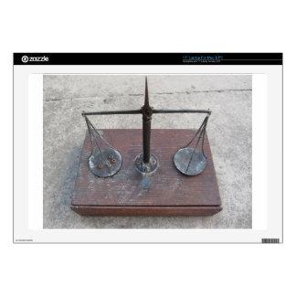 "Handmade balance scale 17"" laptop skins"