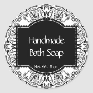 Handmade Bath Soap Label