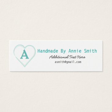 Professional Business Handmade Business Card for Small Business