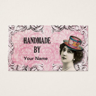 Handmade By - Business Card/Hang Tag