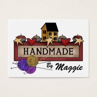 Handmade By (Knitting) ...  SRF Business Card