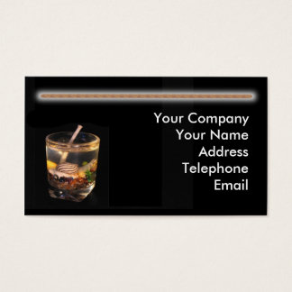 Handmade Candle Making Business Card
