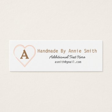 Professional Business Handmade Card for Entrepreneurs & Small Business