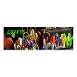 handmade crafts business card