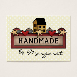 Handmade / Crafts / Knitting / Sewing Business Card