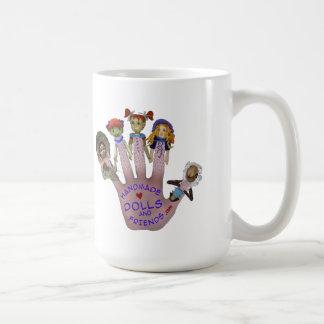 Handmade Dolls and Friends Logo Goodies Coffee Mug