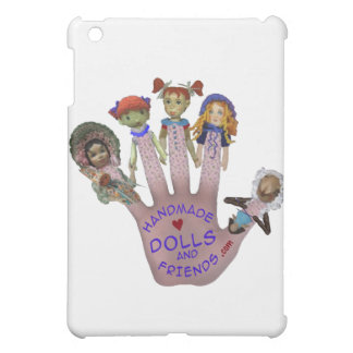 Handmade Dolls and Friends Logo Goodies iPad Mini Case